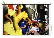 February Fiestas In Havana - Woman Dancing At Carnaval - Retro Travel Poster - Vintage Poster Carry-all Pouch