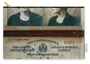 Federal Prohibition Agent Daisy Simpson 1921 Carry-all Pouch
