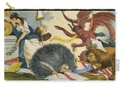 Federalist Cartoon, C1799 Carry-all Pouch