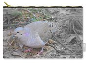 Feeder Friend In Light Fuscia Carry-all Pouch
