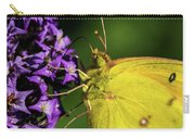 Feeding Butterfly Carry-all Pouch
