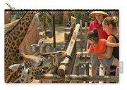 Feeding Giraffe 2 Carry-all Pouch