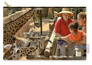 Feeding Giraffe 3a Carry-all Pouch