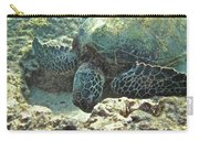 Feeding Sea Turtle Carry-all Pouch