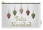 Feliz Navidad Spanish Merry Christmas Carry-all Pouch