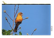 Female Baltimore Oriole Carry-all Pouch