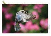 Female Bluebird In Flight Carry-all Pouch