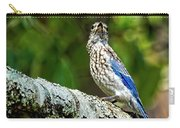 Female Eastern Bluebird Portrait Carry-all Pouch