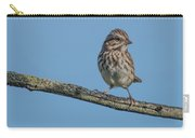 Female House Finch Resting Carry-all Pouch