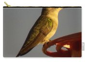 Female Hummingbird Carry-all Pouch