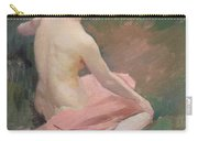 Female Nude Carry-all Pouch by Jules Ernest Renoux
