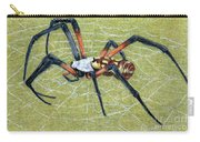 Female Orb Spider -1 Carry-all Pouch