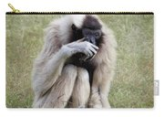 Female Pileated Gibbon, Gladys Porter Zoo Carry-all Pouch
