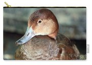 Female Redhead Duck Carry-all Pouch