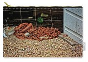 Fence And Chain Carry-all Pouch