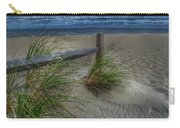 Fence And Dune Grass Carry-all Pouch