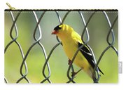 Fence And Feathers Carry-all Pouch