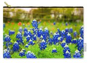 Fence Me In With Flowers Carry-all Pouch