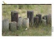 Fence Post All In A Row Carry-all Pouch