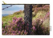 Fence Post In The Peak District Carry-all Pouch