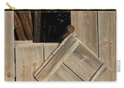 Fence Posts In Barn Carry-all Pouch