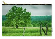 Fence Row And Tree Carry-all Pouch