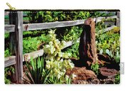 Fence-yucca-rock Carry-all Pouch