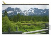 Fenced In Sawtooths Carry-all Pouch