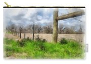Fenceline Carry-all Pouch