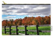 Fences, Fields And Foliage Carry-all Pouch
