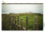 Fences In A Stormy Light Carry-all Pouch