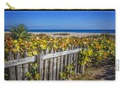Fences On The Dunes Carry-all Pouch