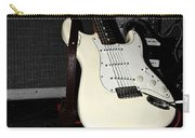 Fender Guitar And Amp In Selective Color Carry-all Pouch