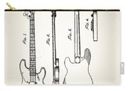 Fender Precision Bass Patent 1952 Carry-all Pouch
