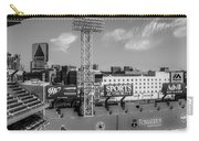 Fenway Park Green Monster Wall Bw Carry-all Pouch