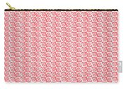 Fermat Spiral Pattern Effect Pattern Red Carry-all Pouch