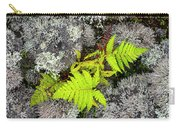 Fern And Lichen Carry-all Pouch