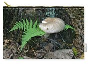 Fern And Mushroom Carry-all Pouch