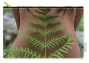 Fern And Woman Carry-all Pouch