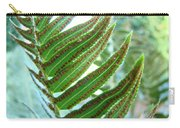 Fern Art Print Green Forest Ferns Baslee Troutman Carry-all Pouch