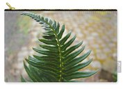 Fern Art Prints Green Garden Fern Branch Botanical Baslee Troutman Carry-all Pouch