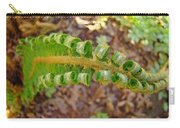 Fern Branch Leaves Art Prints Forest Ferns Natures Baslee Troutman Carry-all Pouch