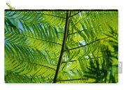 Fern Detail Carry-all Pouch