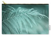 Fern Leaves Abstract 1. Nature In Alien Skin Carry-all Pouch