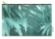 Fern Leaves Abstract 4. Nature In Alien Skin Carry-all Pouch