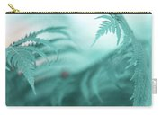 Fern Leaves Abstract. Nature In Alien Skin Carry-all Pouch