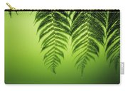 Fern On Green Carry-all Pouch