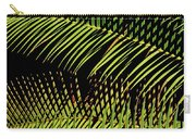 Fern-palm Abtract Carry-all Pouch