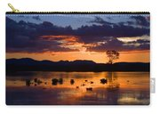 Fern Ridge Sunset Carry-all Pouch