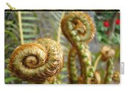 Ferns Art Print Forest Fern Artwork Canvas Baslee Troutman Carry-all Pouch